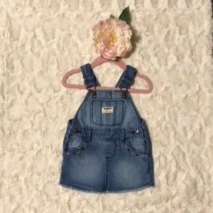 Girl Oshkosh Jean Overall Dress